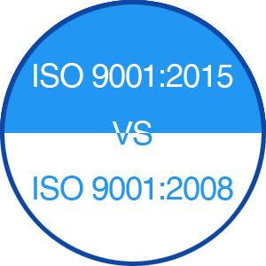 ISO9001-2015 VS ISO9001-2008