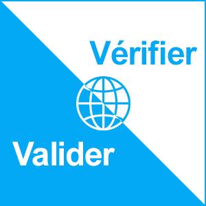 vérifier vs valider
