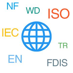 noms des normes ISO