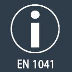 EN 1041 - informations fabricant