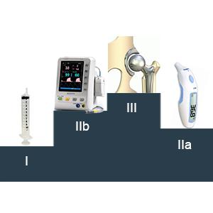 les classes des dispositifs médicaux