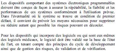 Exigences essentielles - 12-1 - systèmes programmable