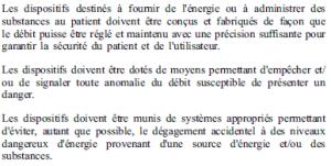 Exigences essentielles - 12-8 - énergie susnatnces
