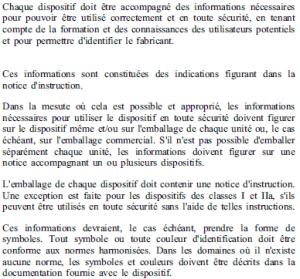 Exigences essentielles - 13-1 13-2 - generalités