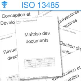 liste procedures ISO 13485
