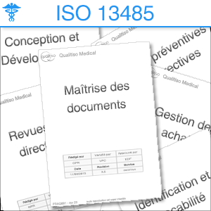 liste procedures ISO 13485