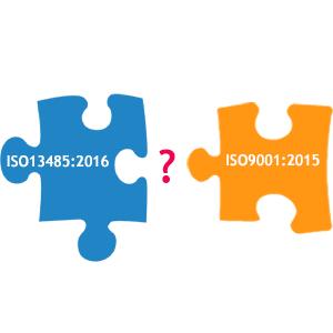 ISO 13485 2016 VS ISO 9001 2015