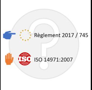 ISO 14971 vs règlement 2017-745