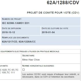 PR NF EN 62366-1/A1