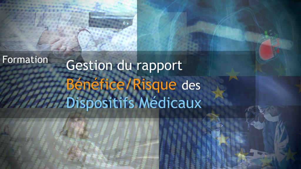 Formation gestion rapport benefice risque dispositifs medicaux