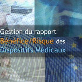 Formation gestion rapport benefice risque dispositifs medicaux