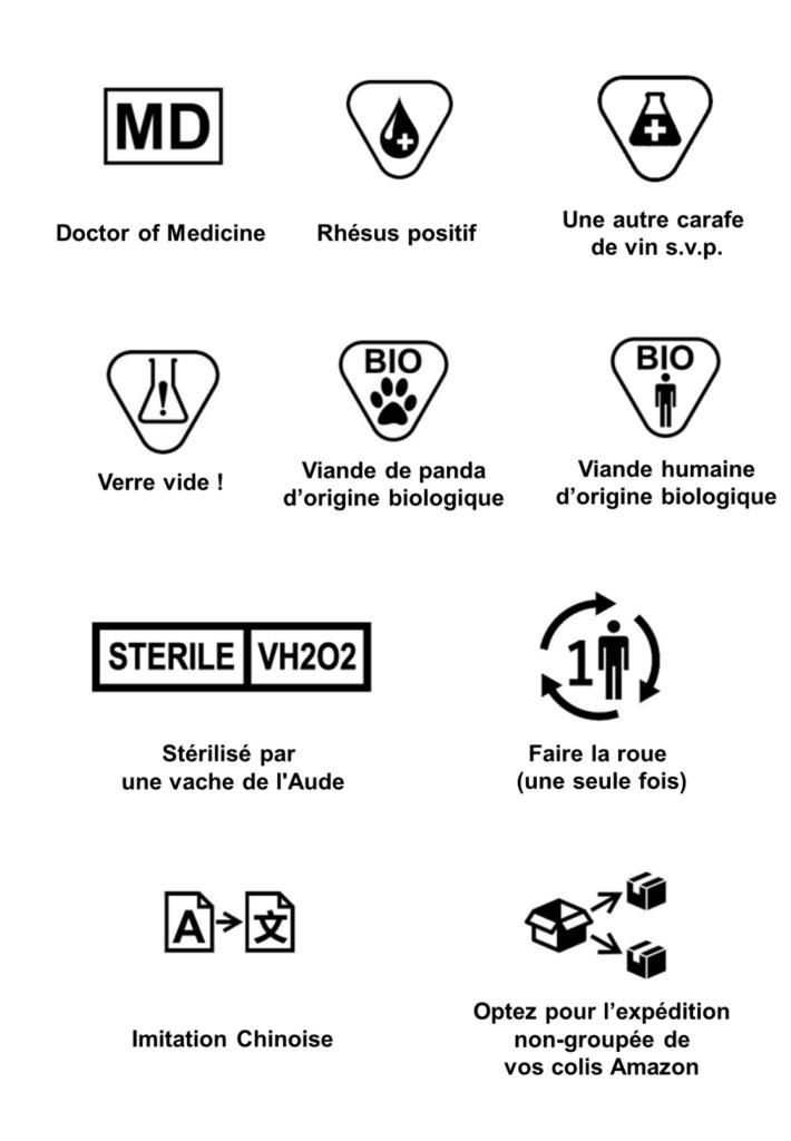 symboles RDM