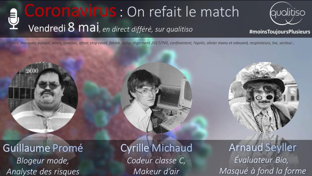 coronavirus : on refait le match