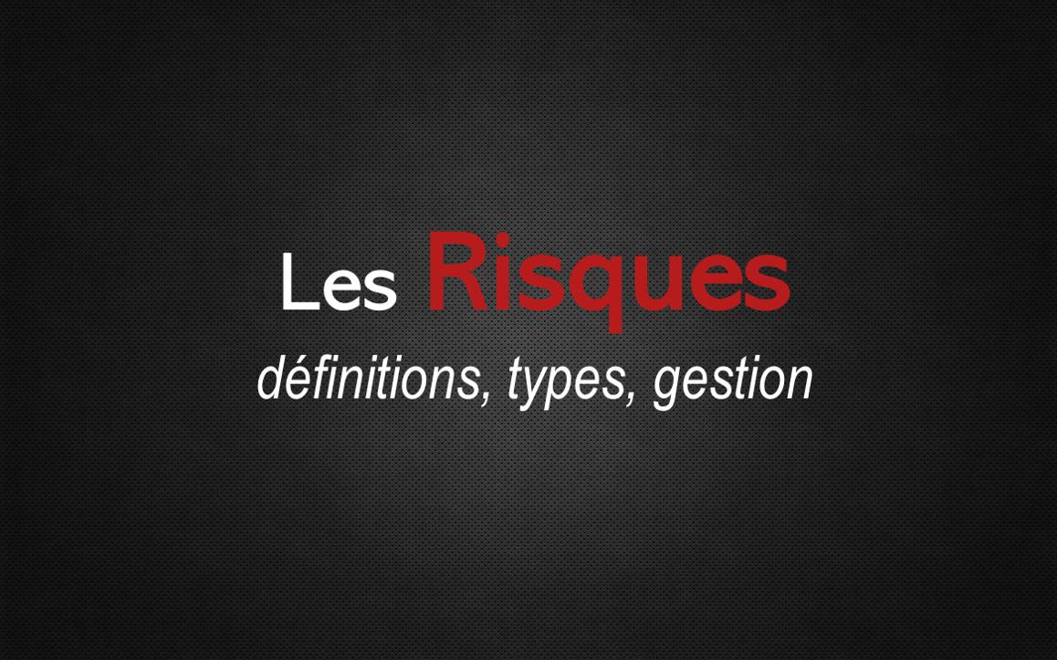 Les Risques : définitions
