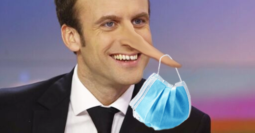 Macron et masques