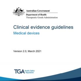 Guide TGA sur les preuves cliniques