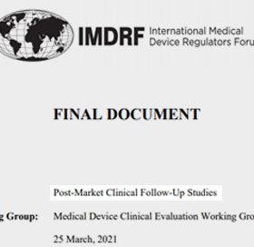 Guide PMCF de l'IMDRF
