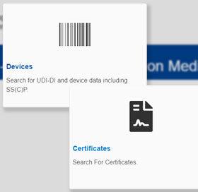Eudamed : modules certificats et dispositifs